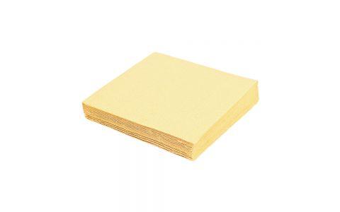 Obrúsky 2-vrstvé 33 x 33 cm béžové 50 ks