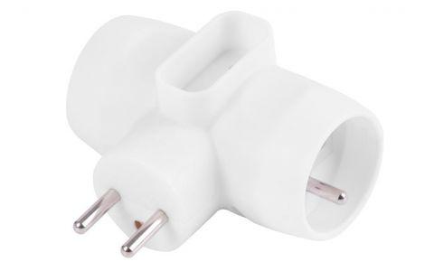 Rozvodka Strend Pro, 230 V, IP20, max. 3680 W, 1x6A, 2x16A