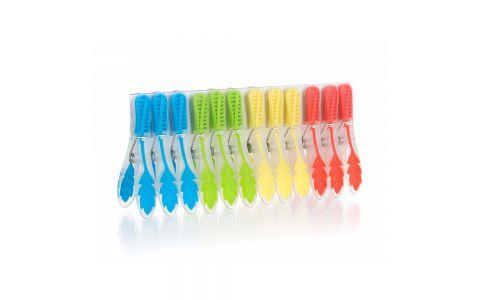 BRILANZ Sada plastových kolíčků na prádlo EXCLUSIVE, 12 ks