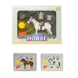 Kôň s príslušenstvom