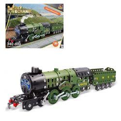Malý mechanik - parná lokomotíva