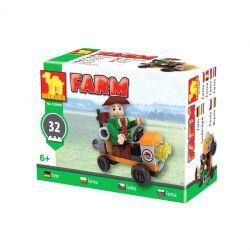 Stavebnica Farma auto