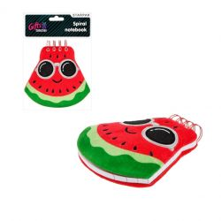 Plyšový zápisník - melón