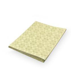 Obrus papierový skladaný 1,80 x 1,20 m, béžový