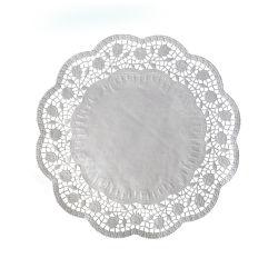 Krajky dekor. okrúhle 40 cm (100 ks v bal.)