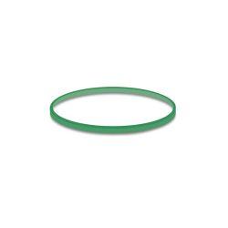 Gumičky zelené slabé (1 mm, o 4 cm) [50 g]