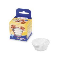 Cukr. košíčky biele priemer 35 mm, výška 20 mm /100 ks/