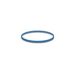 Gumičky modré slabé (1 mm, o 2 cm) [1 kg]