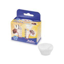 Cukr. košíčky biele priemer 25 mm, výška 18 mm /200 ks/