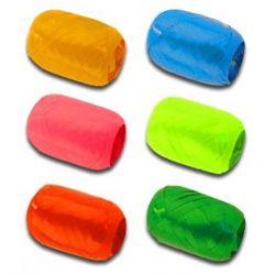 Stuha sťahovacia v klbku 5 mm/20 m metal - mix farieb, 1ks