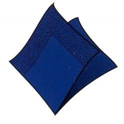 Obrúsky 3-vrstvé 33 x 33 cm tm. modré /20 ks/