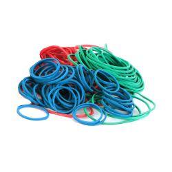 Gumičky mix slabé (1 mm, o 2, 4, 6 cm) [50 g]