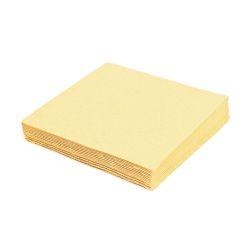 Obrúsky 2-vrstvé 24 x 24 cm béžové 250 ks