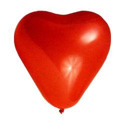 Balón l 35 cm, srdce /5 ks/