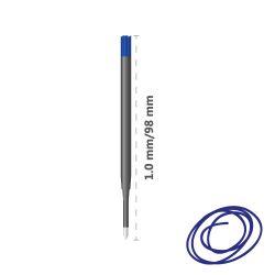 Náplň guľôčková cresco non stop/4441 1,0 mm - modrá, bal. 20 ks