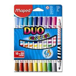 """Fixy maped """"color`peps duo"""", 10 ks = 20 farieb"""