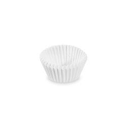 Cukr. košíčky biele priemer 24 mm, výška 18 mm /1000ks/
