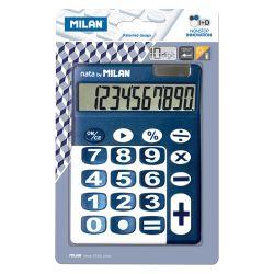 Kalkulačka milan stolová 10-miestna 150610 modrá
