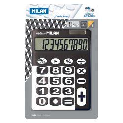 Kalkulačka milan stolová 10-miestna 150610 čierna