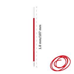 Náplň guľôčková milan p1 touch 1,0 mm - červená