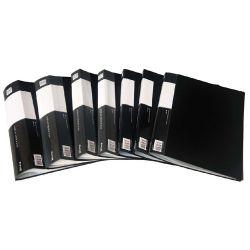 Katalogová kniha a4 40 listov, čierna