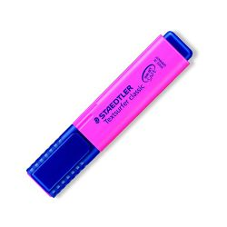 Zvýrazňovač, 1-5 mm, staedtler, ružový