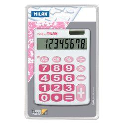 Kalkulačka milan stolová 8-miestna 151708 biela