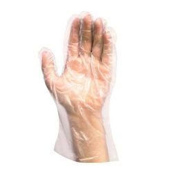 Rukavice jednorázové ldpe pre ženy, veľkosť m, (100 ks v bal.)