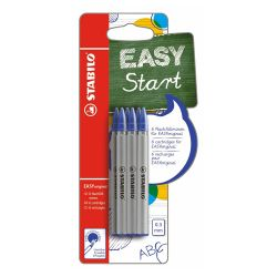 Náplň do guľôčkového pera stabilo easy original 0,3 mm - modrá 6ks/blister