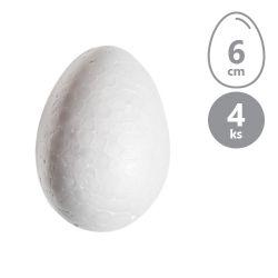 Vajíčka polystyrénové 6 cm, sada 4 ks