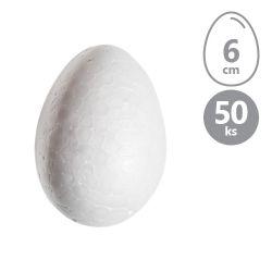 Vajíčka polystyrénové 6 cm, sada 50 ks
