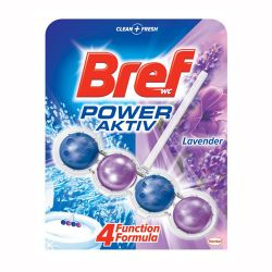 Bref power aktiv wc blok levanduľa, 50g