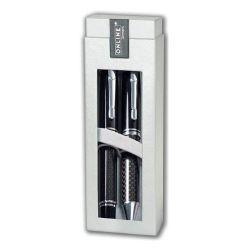 Sada guľôčkové a plniace pero online lined black, čierna náplň