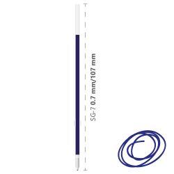 Náplň olejová semi-gel sg-7/0,7 mm, modrá