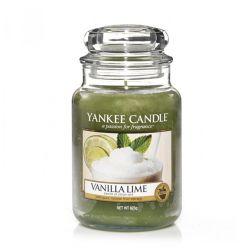 Sviečka yankee candle - vanilla lime, veľká