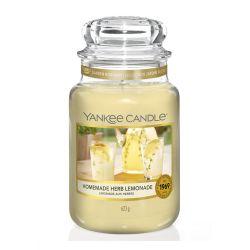 Sviečka yankee candle - homemade herb lemonade, veľká