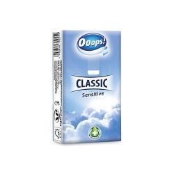 Hygienické vreckovky ooops! classic sensitive 3-vrstvové, 1 ks