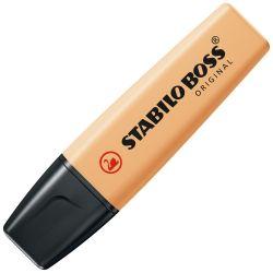 Zvýrazňovač stabilo boss original pastel, pastelovo oranžový