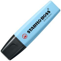 Zvýrazňovač stabilo boss original pastel, sviežo modrý