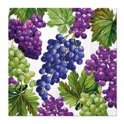 Obrúsky paw l 33x33cm natural grapes