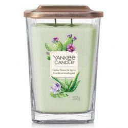 Sviečka yankee candle - cactus flower and agave, veľká