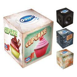 Papierové vreckovy v krabičke 54 ks, 3 vrstvy, celuóza, rôzne motívy
