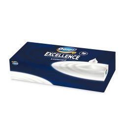 Papierové vreckovky v krabičke, 4 vrstvy, celuóza, 80ks