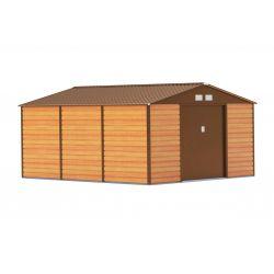 Záhradný domček G21 GAH 1300 - 340 x 382 cm, hnedý