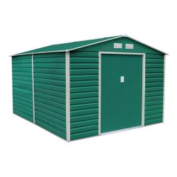 Záhradný domček G21 GAH 1085 - 340 x 319 cm, zelený