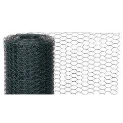 Pletivo GARDEN HEX PVC 1000/16/0,9 mm, zelené, RAL 6005, šesťhranné, chovateľské, bal. 25 m