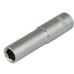 """Hlavica whirlpower® 16121-12, 08.0 mm, 1/4"""", Cr-V, 6point, predĺžená"""