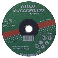 Kotuc Gold Elephant 41AA 150x1,6x22,2 mm, kov, oceľ, inox, nerez A46TBF
