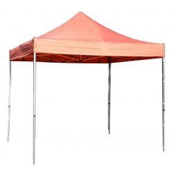 Stan FESTIVAL, 3x3 m, červený, Profesionál, plachta UV odolná, bez steny