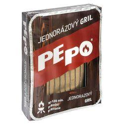 Gril PE-PO®, jednorázový, FSC®